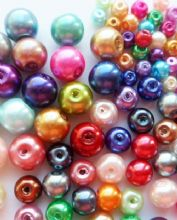 Pearlised beads